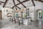 European Style House Plan - 4 Beds 4.5 Baths 6299 Sq/Ft Plan #930-510 Interior - Kitchen