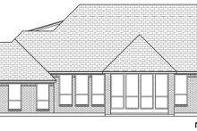 Dream House Plan - European Exterior - Rear Elevation Plan #84-592