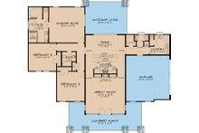 Modern Floor Plan - Main Floor Plan Plan #17-2591