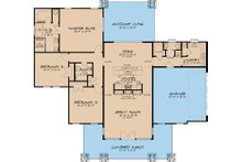 Modern Floor Plan - Main Floor Plan Plan #17-2591