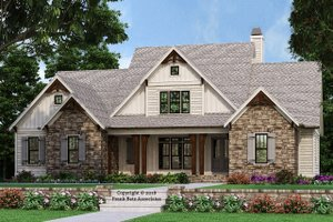 Farmhouse Exterior - Front Elevation Plan #927-987
