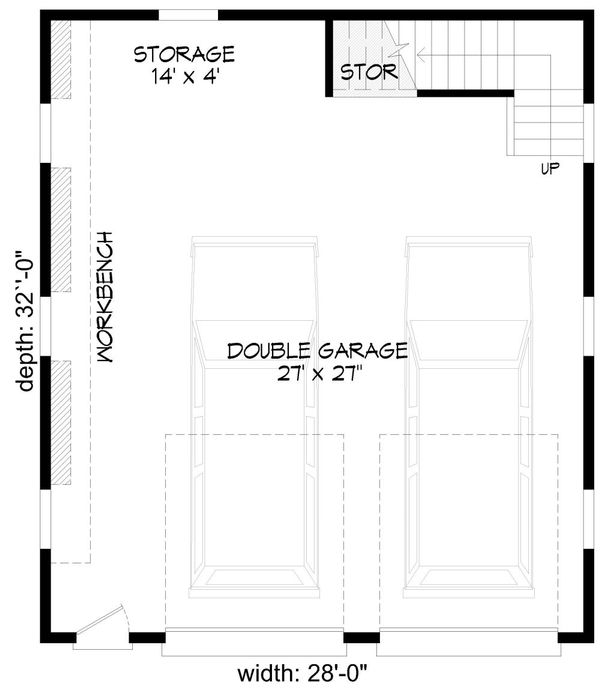 Dream House Plan - Country Floor Plan - Main Floor Plan #932-140