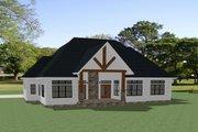 Farmhouse Style House Plan - 3 Beds 2.5 Baths 2847 Sq/Ft Plan #898-48 Exterior - Rear Elevation