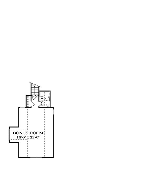 Craftsman Floor Plan - Other Floor Plan Plan #453-5