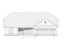 Dream House Plan - Cottage Exterior - Front Elevation Plan #932-325