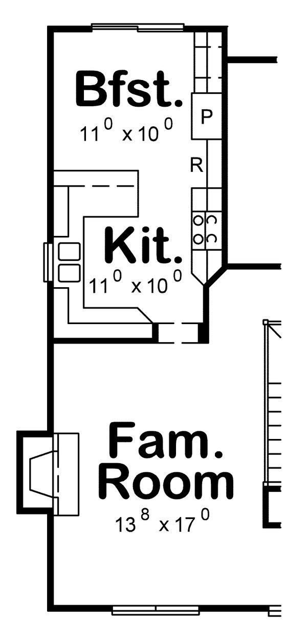 Craftsman Floor Plan - Other Floor Plan #20-2233