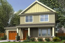 Craftsman Exterior - Front Elevation Plan #48-494