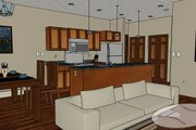 Modern Style House Plan - 3 Beds 1.5 Baths 1106 Sq/Ft Plan #126-171 Interior - Other
