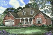 Traditional Style House Plan - 4 Beds 2 Baths 1880 Sq/Ft Plan #17-1093