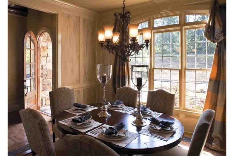 European Interior - Dining Room Plan #927-18 - Houseplans.com