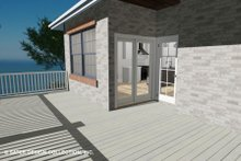 Architectural House Design - Country Exterior - Outdoor Living Plan #930-514