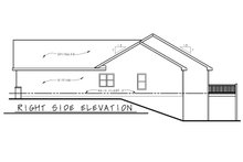 House Plan Design - Traditional Exterior - Other Elevation Plan #20-2404