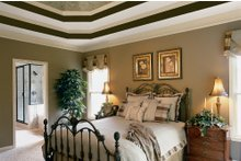 House Design - Country Interior - Master Bedroom Plan #927-8