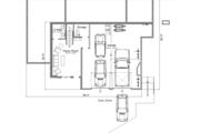 Modern Style House Plan - 4 Beds 3.5 Baths 2779 Sq/Ft Plan #451-21 Floor Plan - Lower Floor Plan