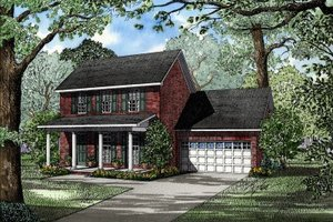 Traditional Exterior - Front Elevation Plan #17-264
