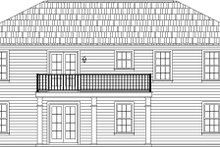 Home Plan - Ranch Exterior - Rear Elevation Plan #21-371