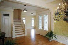 Home Plan - Victorian Interior - Entry Plan #410-104