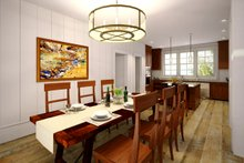 Home Plan - Ranch Interior - Dining Room Plan #124-887