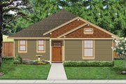 Cottage Style House Plan - 3 Beds 2 Baths 1222 Sq/Ft Plan #84-512 Exterior - Front Elevation