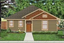 Home Plan - Cottage Exterior - Front Elevation Plan #84-512