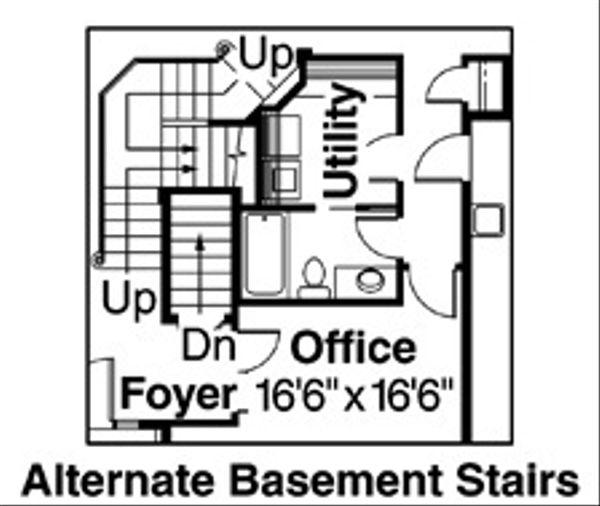 Traditional Floor Plan - Other Floor Plan Plan #124-541