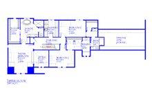 European Floor Plan - Upper Floor Plan Plan #901-143