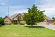 European Style House Plan - 4 Beds 2.5 Baths 2494 Sq/Ft Plan #65-379 Exterior - Front Elevation