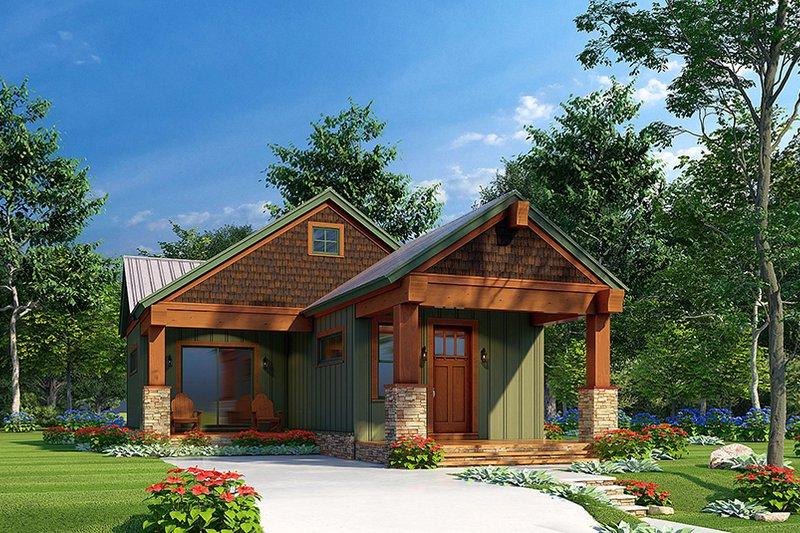 House Plan Design - Craftsman Exterior - Front Elevation Plan #923-220