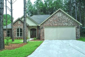 Traditional Exterior - Front Elevation Plan #430-93