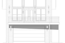 Contemporary Exterior - Front Elevation Plan #932-257