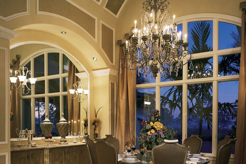 Mediterranean Interior - Dining Room Plan #930-15 - Houseplans.com