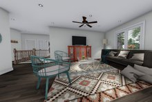 House Plan Design - Ranch Interior - Family Room Plan #1060-41