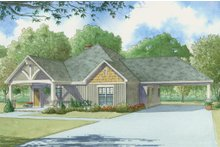 House Plan Design - Craftsman Exterior - Front Elevation Plan #923-4