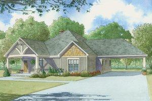 Craftsman Exterior - Front Elevation Plan #923-4
