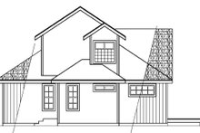 Contemporary Exterior - Other Elevation Plan #124-388