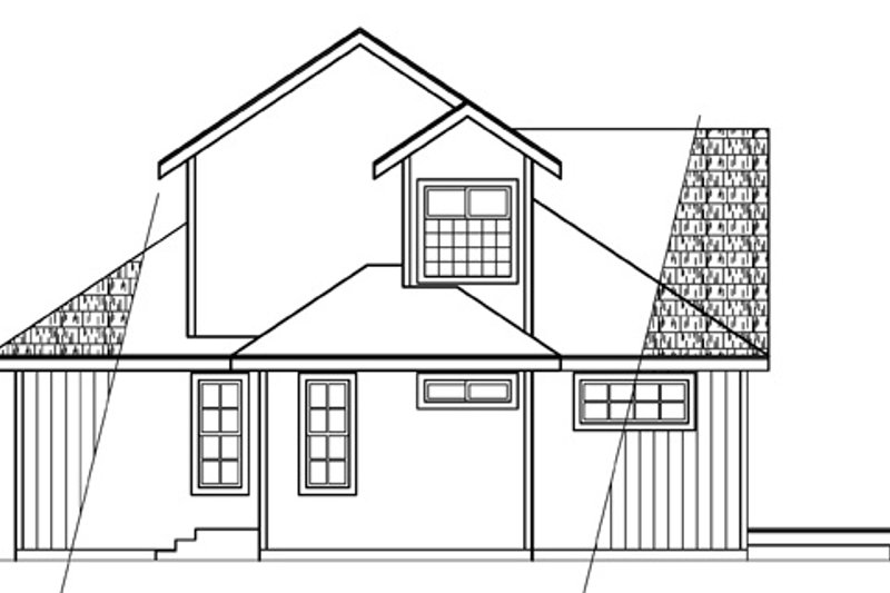 Elevation Plan Ne Demek : Contemporary style house plan beds baths sq ft