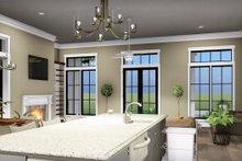Bungalow Interior - Kitchen Plan #44-238