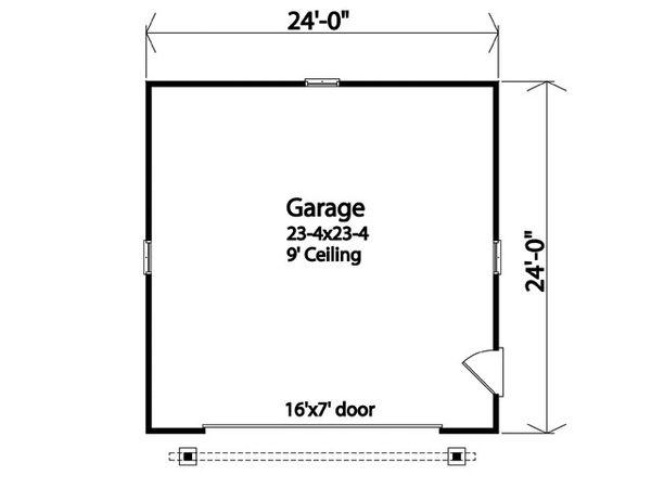 House Plan Design - Country Floor Plan - Main Floor Plan #22-601
