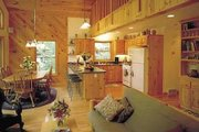Cottage Style House Plan - 3 Beds 2 Baths 1648 Sq/Ft Plan #320-413 Photo