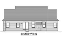 Ranch Exterior - Rear Elevation Plan #1010-238