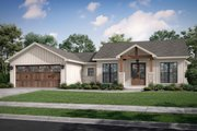 Farmhouse Style House Plan - 3 Beds 2.5 Baths 1599 Sq/Ft Plan #430-246 Exterior - Front Elevation