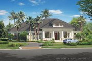 Bungalow Style House Plan - 3 Beds 3.5 Baths 3108 Sq/Ft Plan #930-19 Exterior - Front Elevation