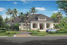 Architectural House Design - Bungalow Exterior - Front Elevation Plan #930-19