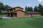 Contemporary Style House Plan - 3 Beds 2.5 Baths 2926 Sq/Ft Plan #1070-94