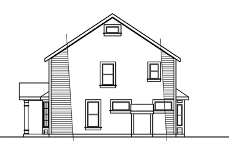 Colonial Exterior - Other Elevation Plan #124-715 - Houseplans.com