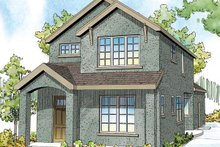 Traditional Exterior - Front Elevation Plan #124-877
