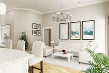House Blueprint - Farmhouse Interior - Family Room Plan #45-597