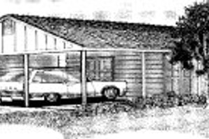 Ranch Exterior - Front Elevation Plan #303-264