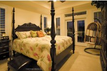 Dream House Plan - Mediterranean Interior - Master Bedroom Plan #930-16