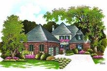 Home Plan Design - European Exterior - Front Elevation Plan #45-211